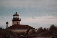 lighthouse, oregon, bandon