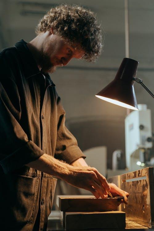 Foto profissional grátis de arte, artesanato, artesão