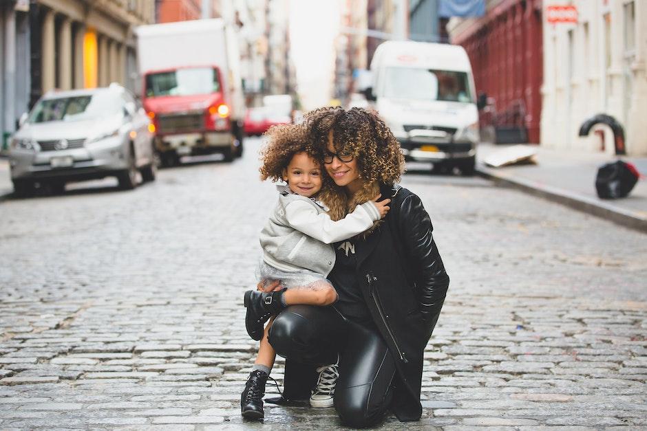 child, family, female