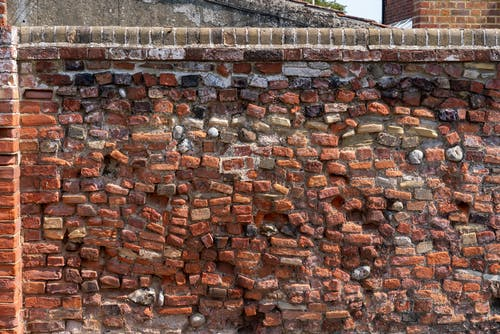 Free stock photo of brick, no people, red