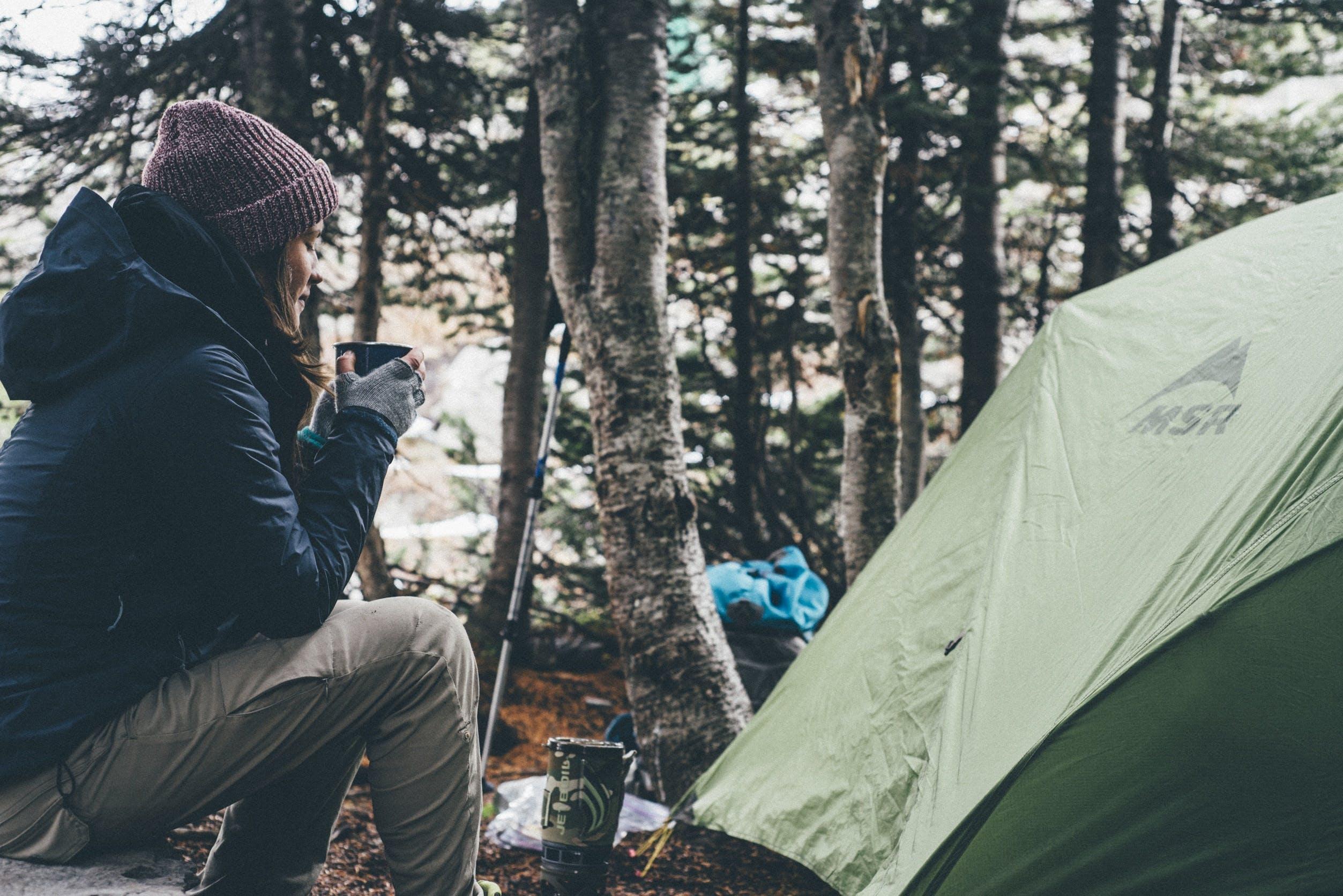 beanie, camping, gear