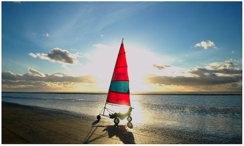 Imagine de stoc gratuită din biciclete de vânt, faleză, mare, plajă