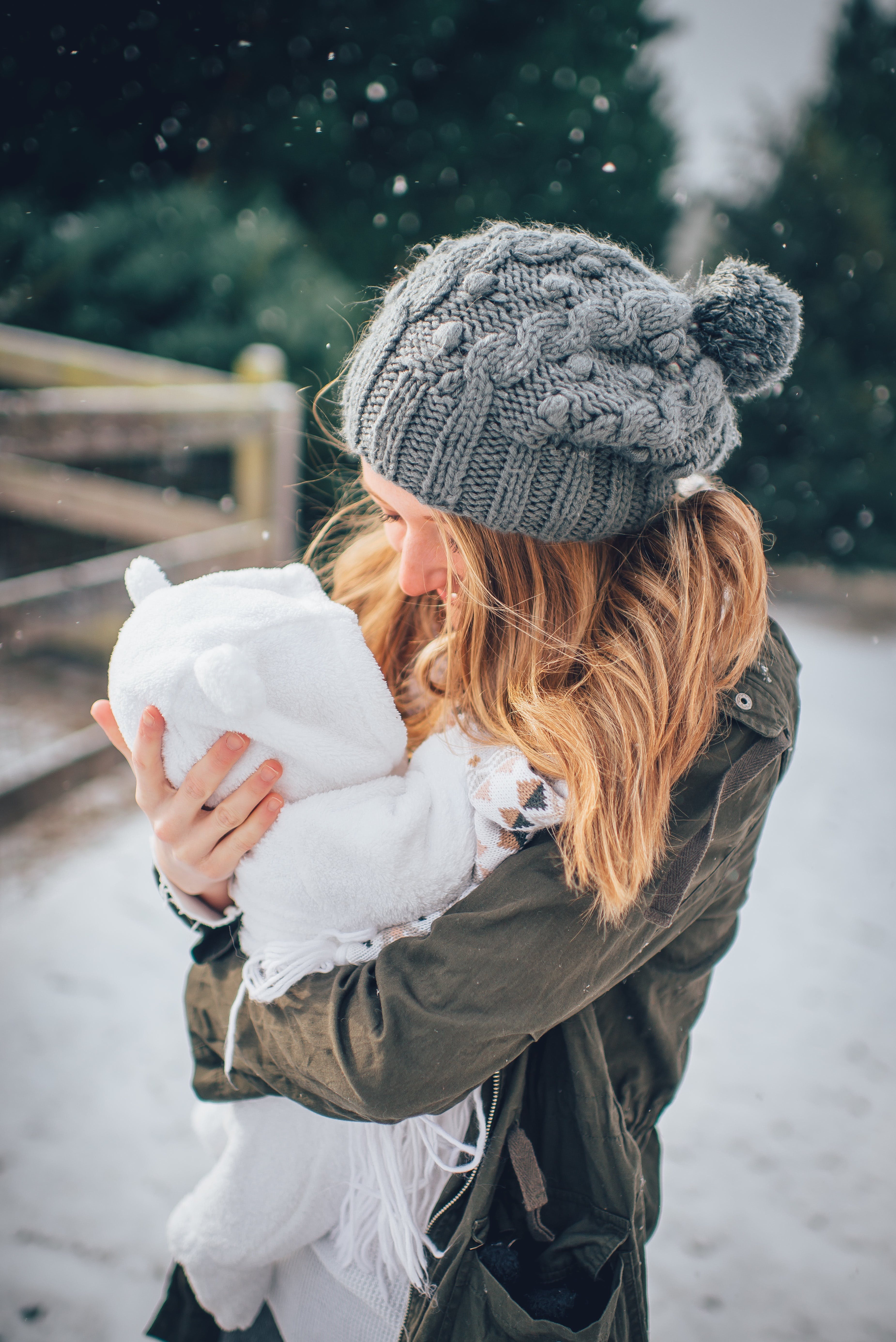 Free stock photo of baby, caucasian, cold, cuddle