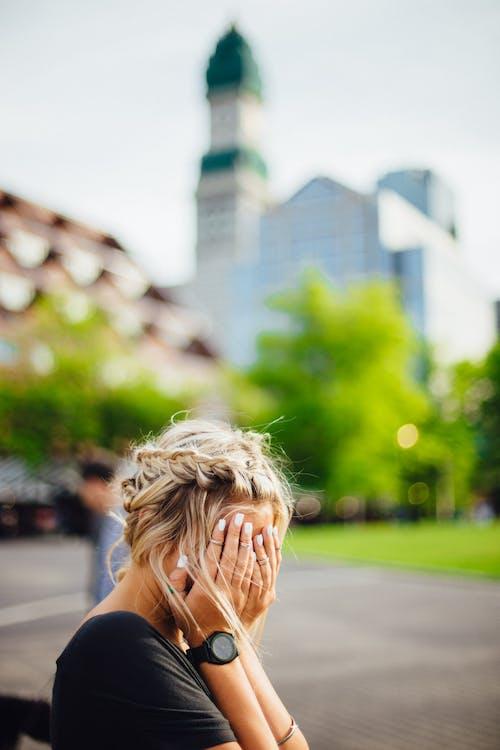 Darmowe zdjęcie z galerii z blond, fryzura, kobieta, osoba