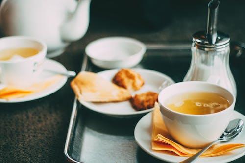 Kostenloses Stock Foto zu bäckerei, besteck, café, dämmerung