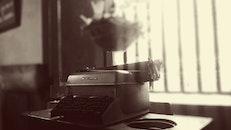 black-and-white, vintage, blur