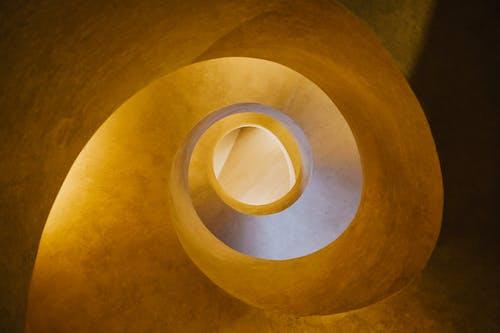 Photos gratuites de à l'intérieur, abstrait, architecture