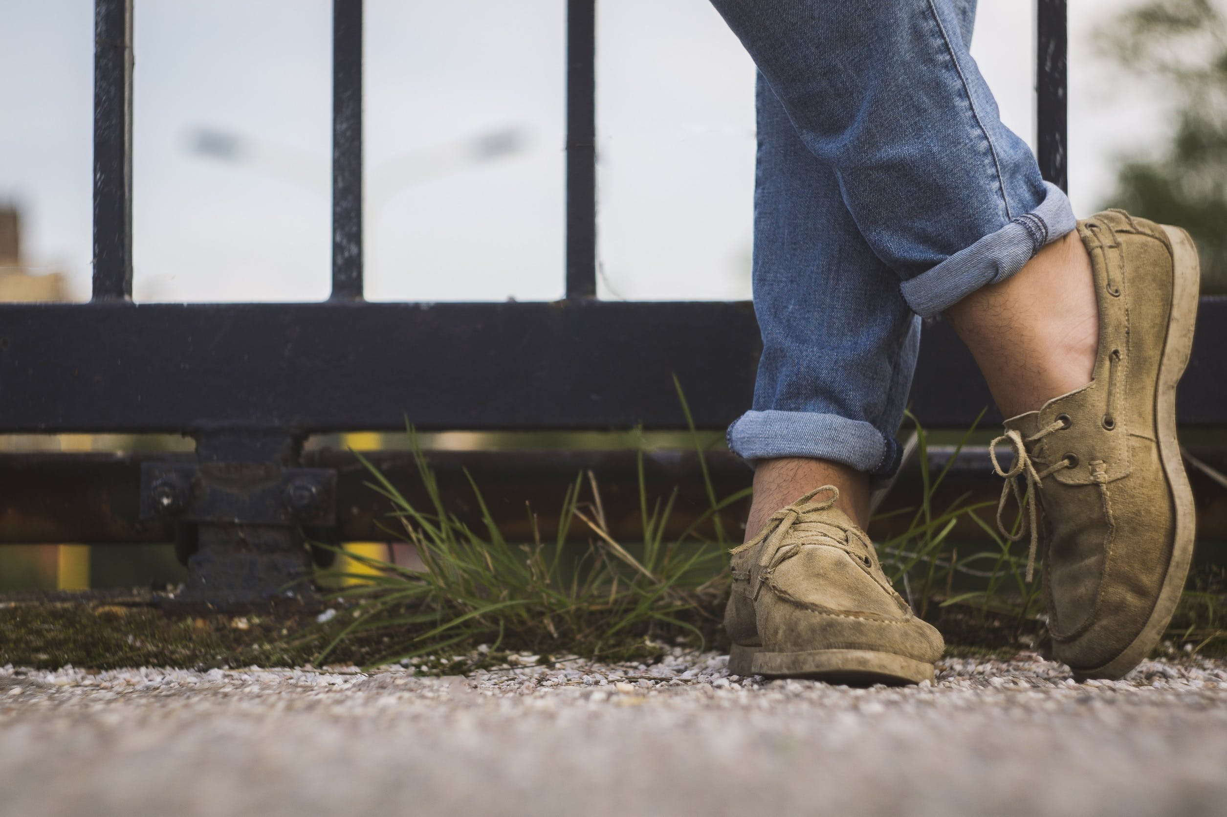 Free stock photo of feet, shoes, standing, ground