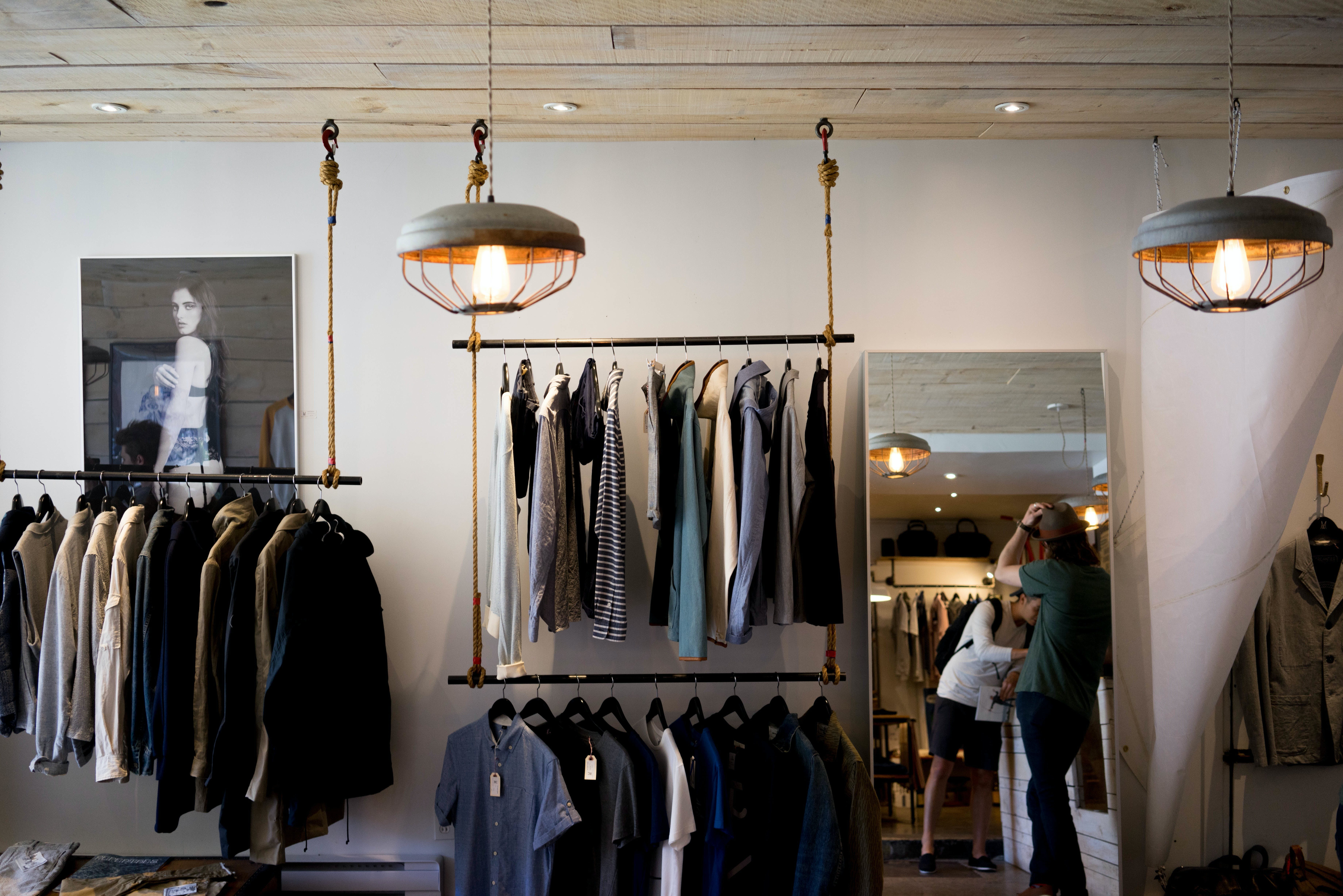 Free stock photo of boutique, business, clothes, clothing store