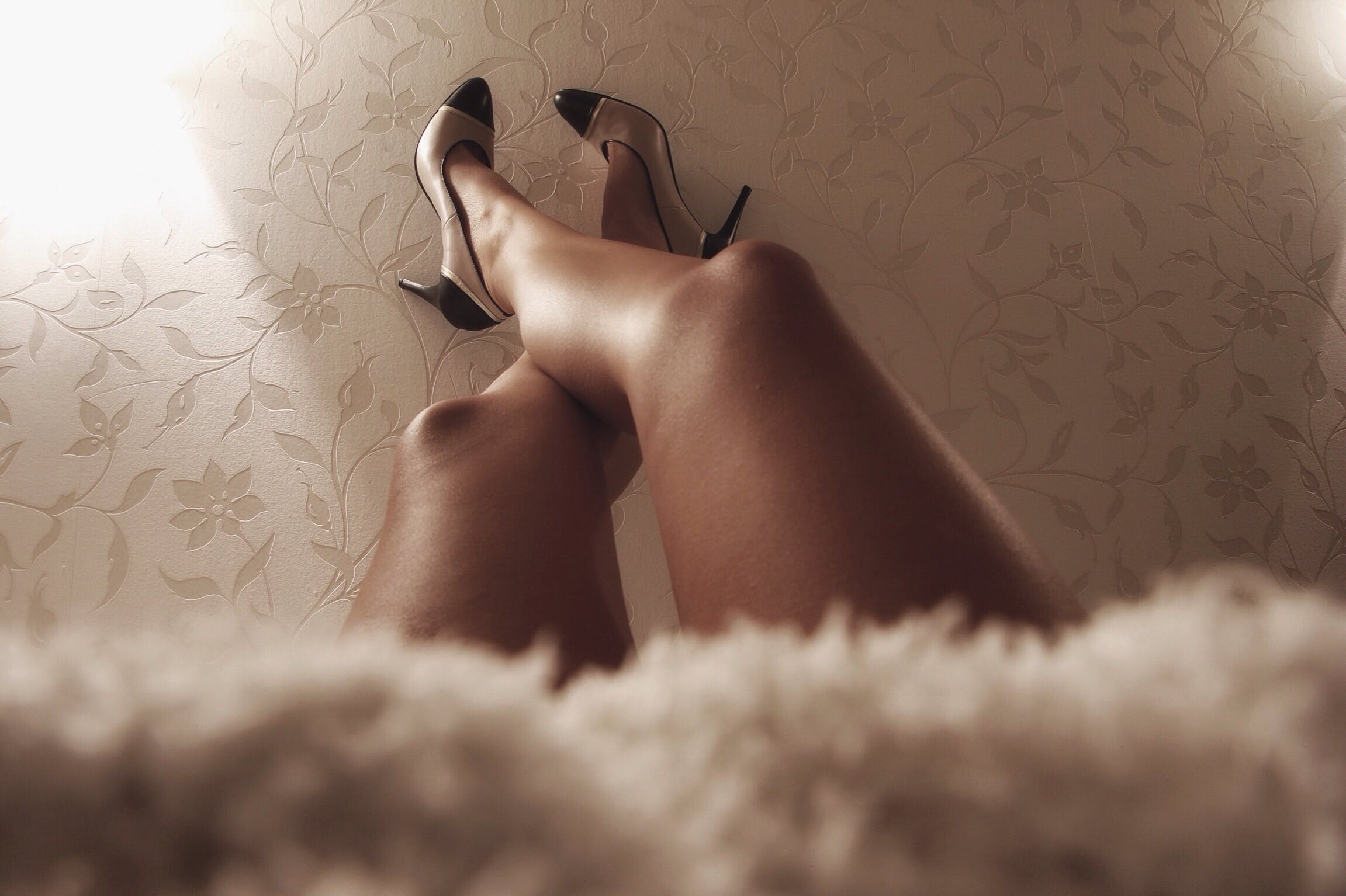 Free stock photo of feet, high heels, legs, women