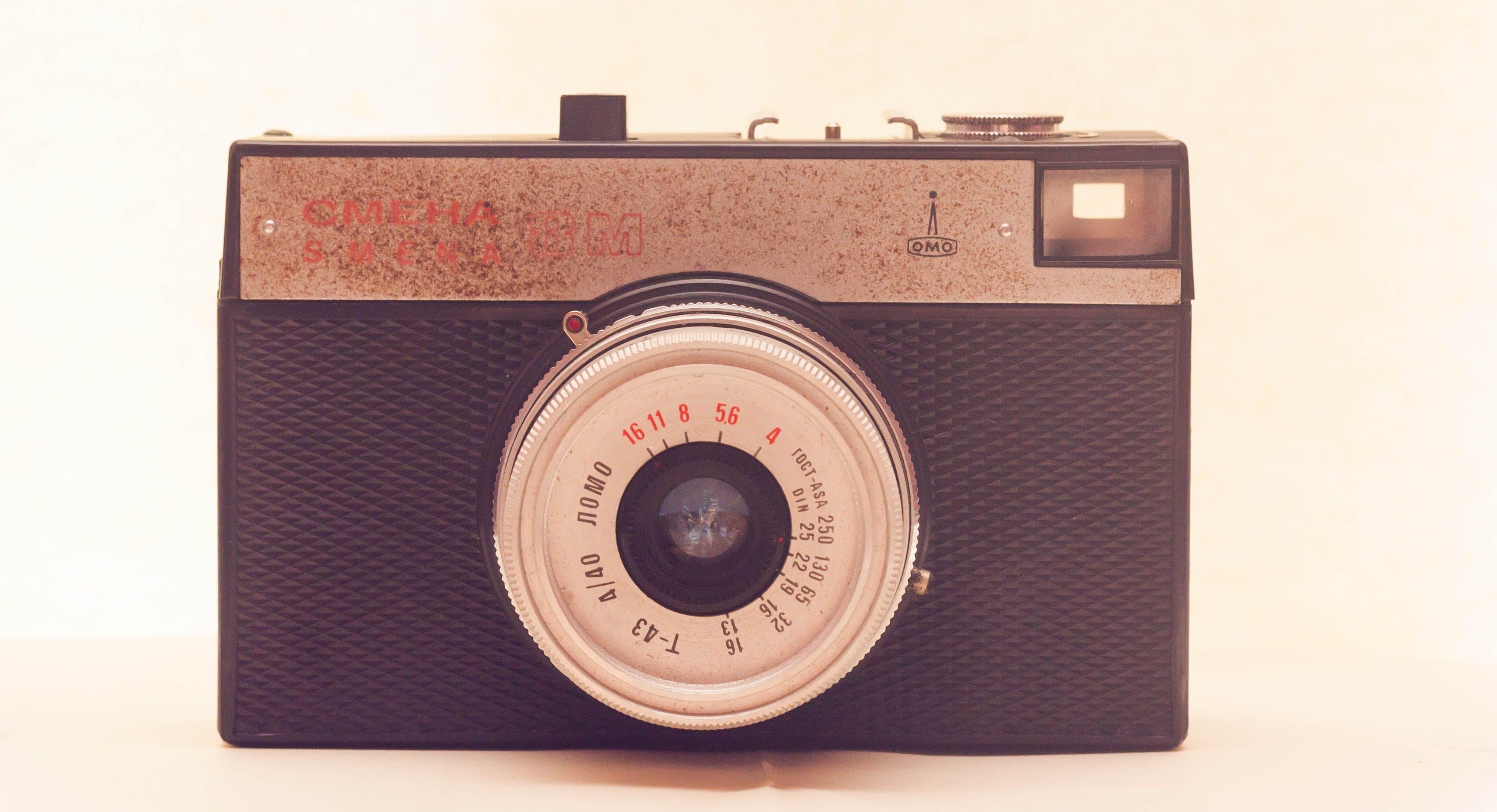 Black and White Film Camera