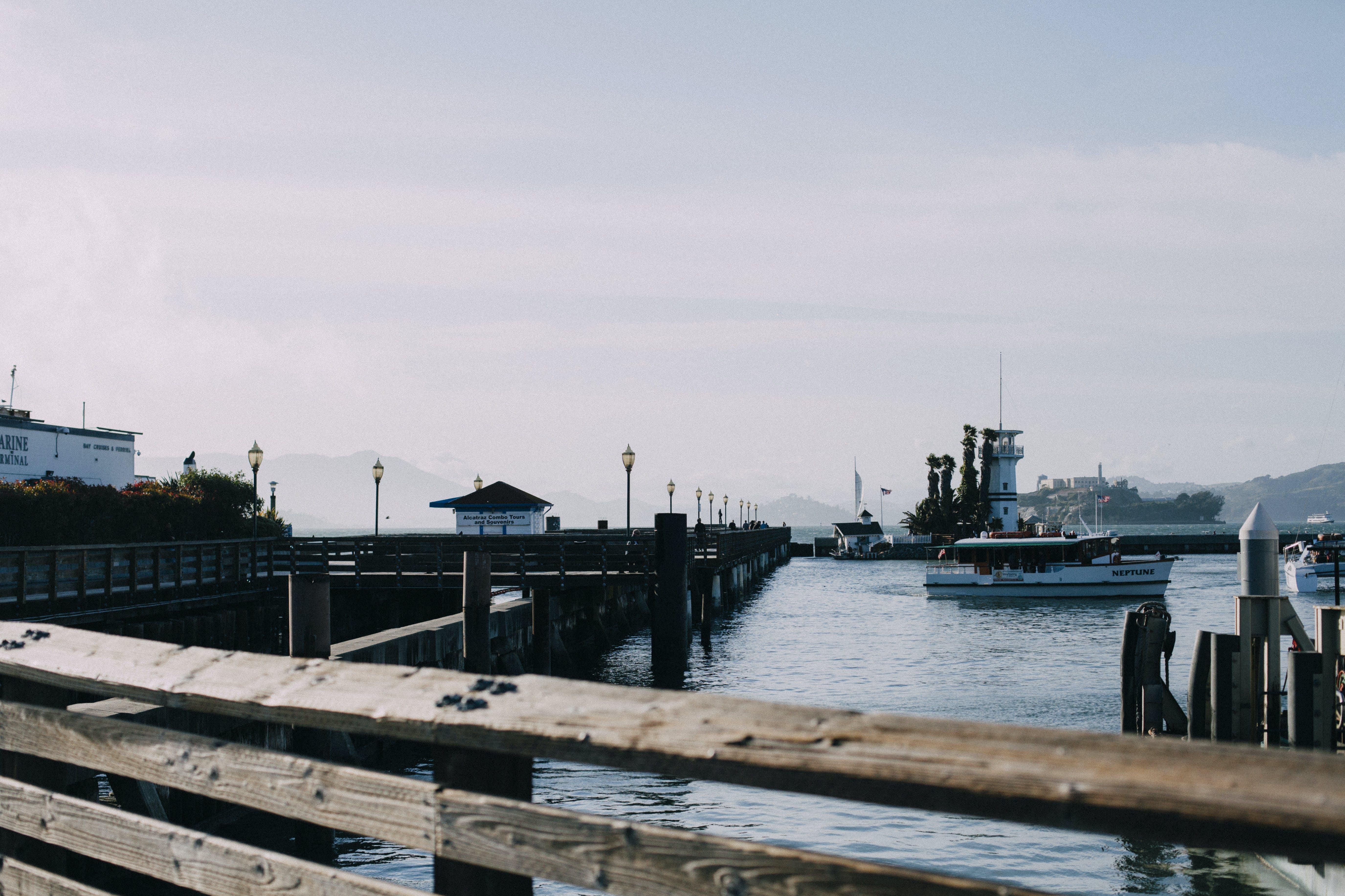 Free stock photo of boats, ocean, pier, san francisco