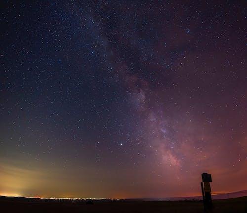 全景, 星星, 銀河 的 免費圖庫相片
