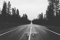 road, endless, straight