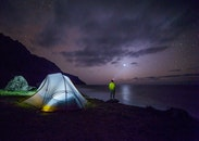 night, adventure, camping
