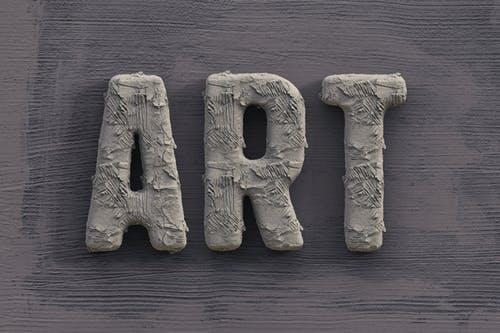 Free stock photo of 3d, 3d typography, abstract, art