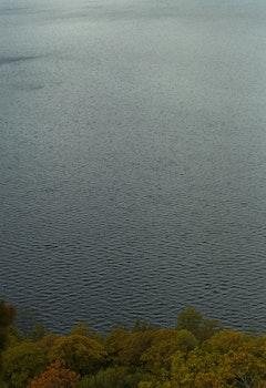 Grey Calmed Body of Water