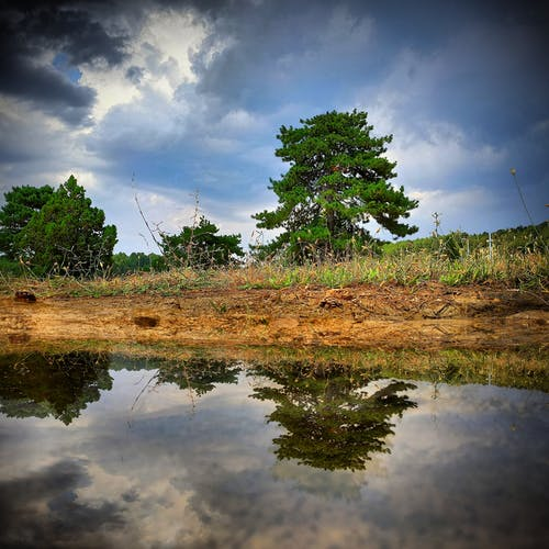 Immagine gratuita di lago, montagna