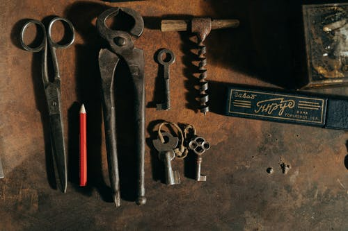 anahtar, Antik, antika, atölye içeren Ücretsiz stok fotoğraf