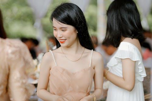 Asian elegant woman on wedding party