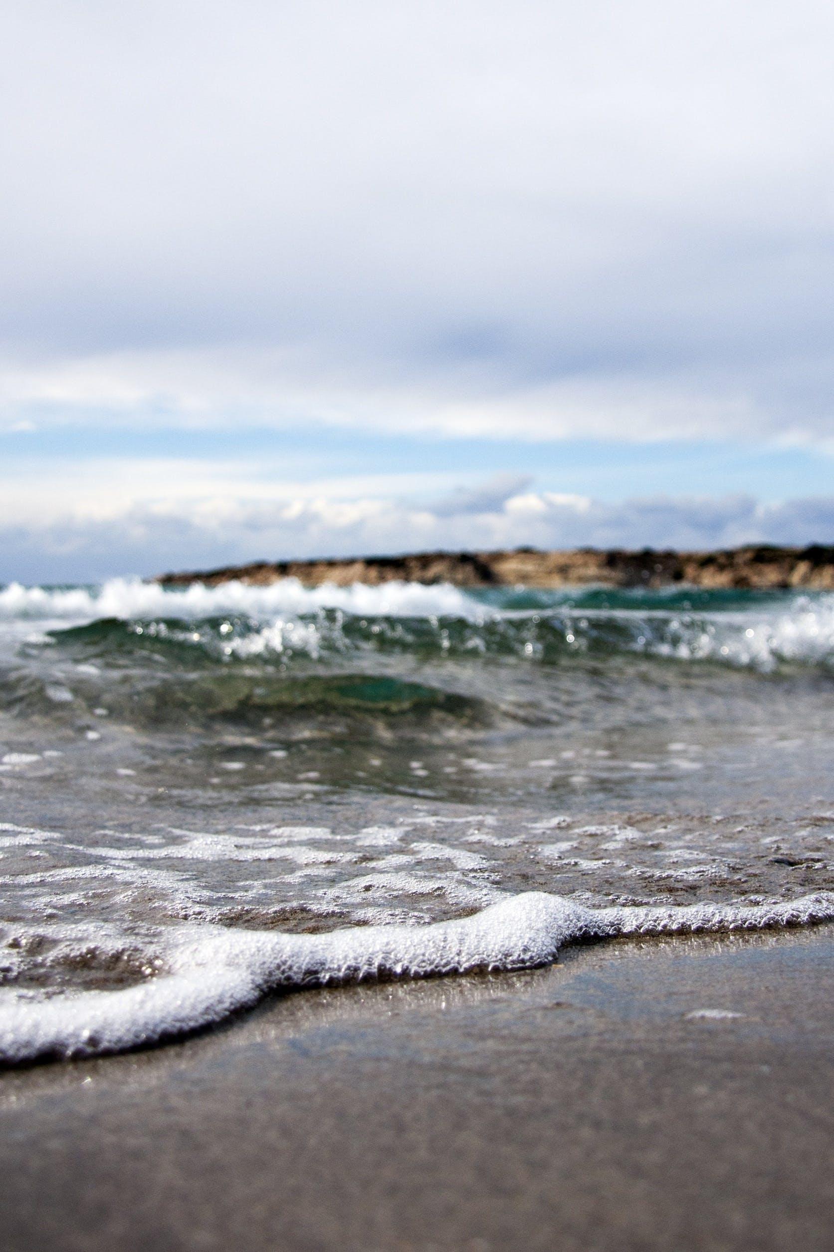 Free stock photo of sea, beach, sand, water