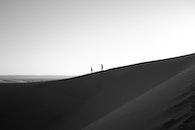 people, sand, walking