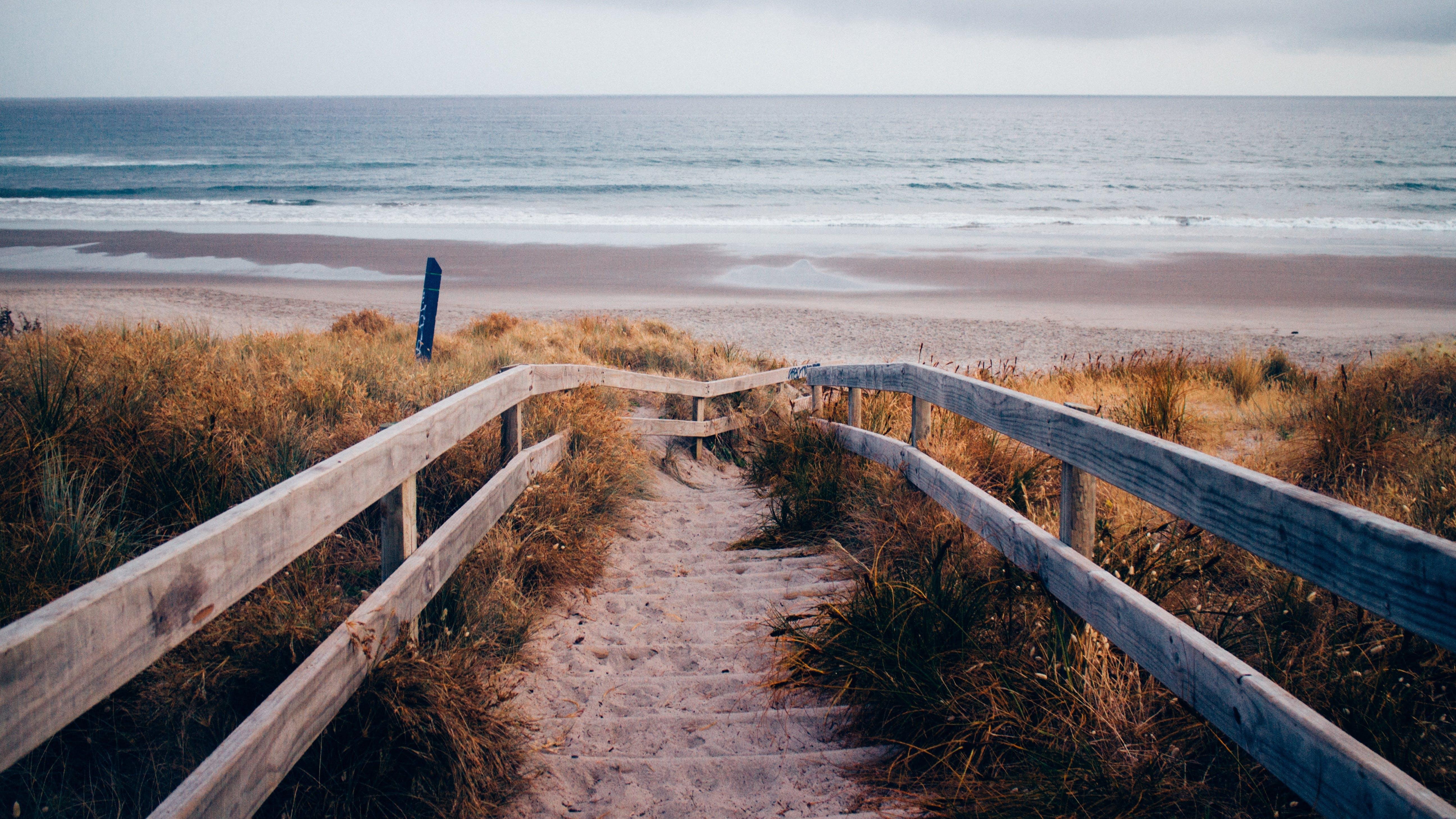 Free stock photo of landscape, beach, sand, ocean