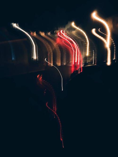 Immagine gratuita di fasci di luce, illuminazione, luce e ombra, ondeggiante