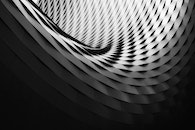 black-and-white, pattern, architecture