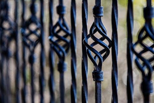 Бесплатное стоковое фото с барьер, ворота, забор, кованое железо
