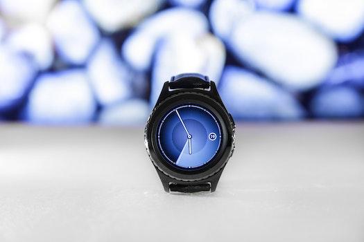 Free stock photo of wristwatch, technology, watch, samsung