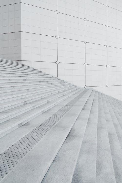 Weiße Betonwand