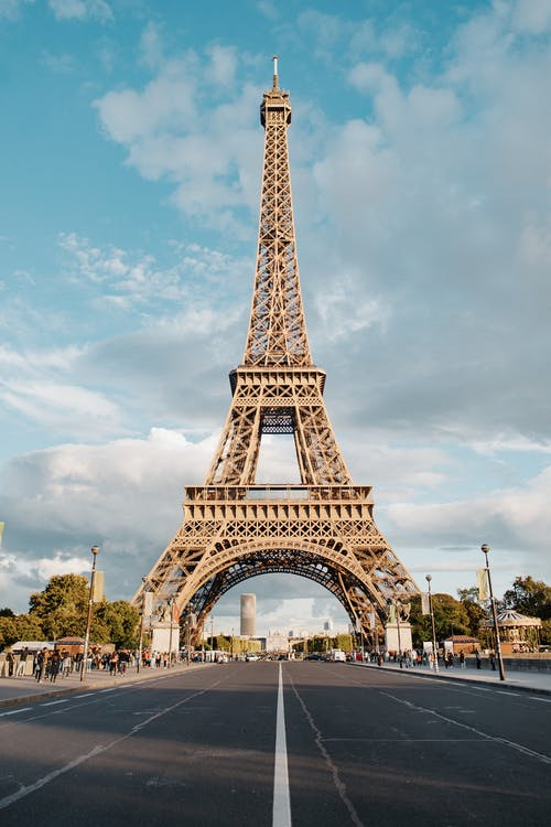 The Eiffel Tower In Full Shot Photography