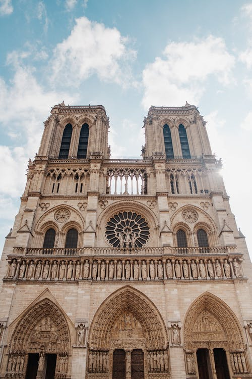 The Cathedral Notre-Dame in Psris
