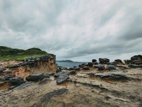 Бесплатное стоковое фото с буря, вода, закат