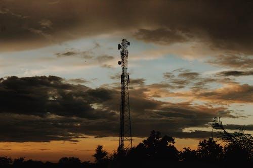 Ilmainen kuvapankkikuva tunnisteilla aamu, aamunkoitto, antenni, auringonlasku