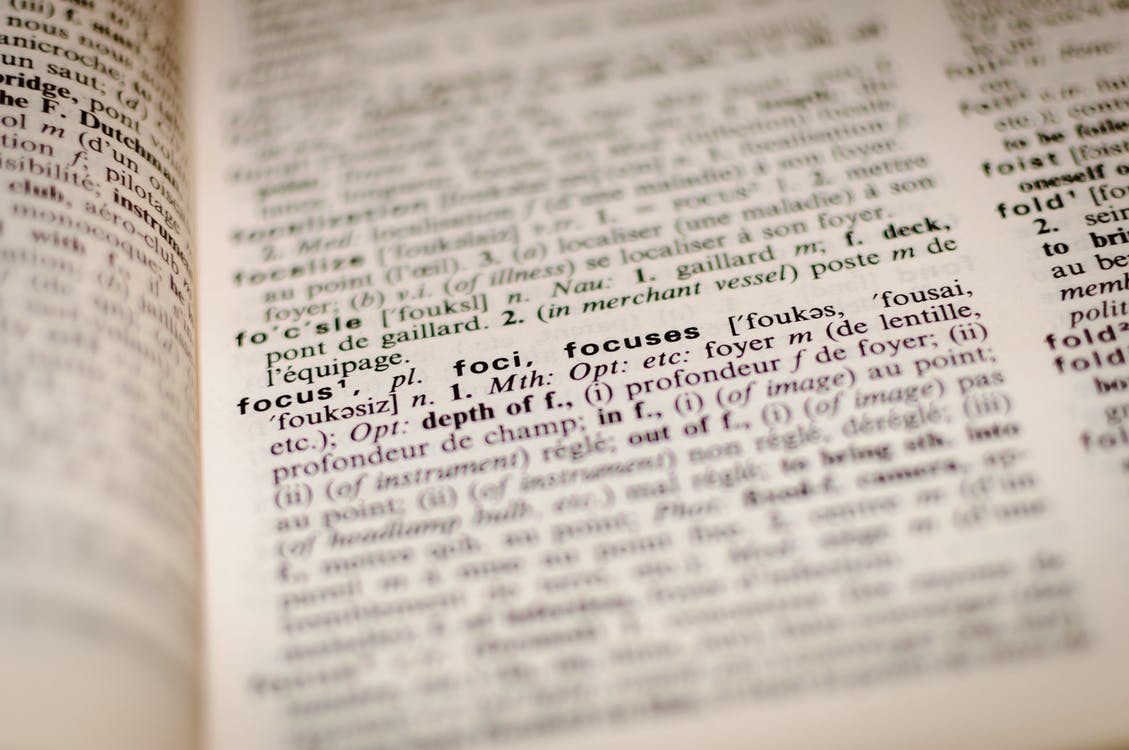 Free stock photo of definition, dictionary, education