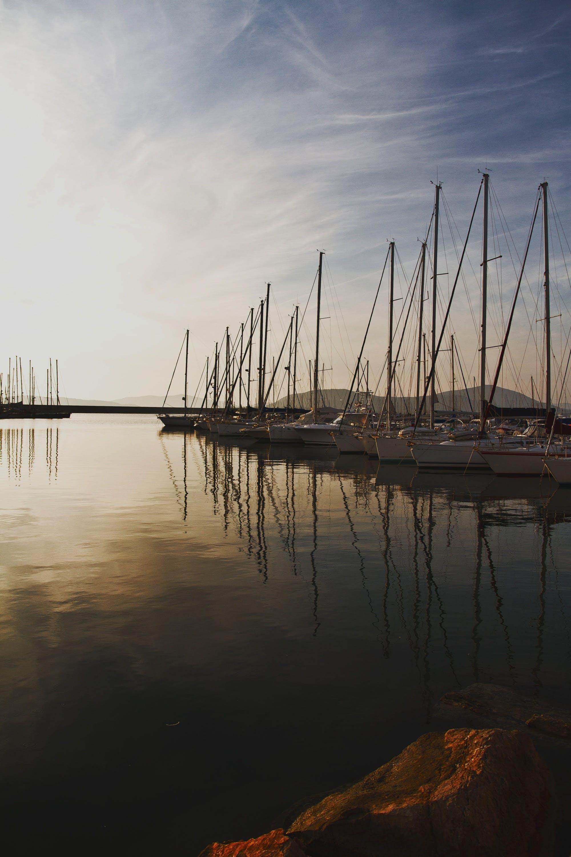 Free stock photo of boats, calm, hobby, holiday