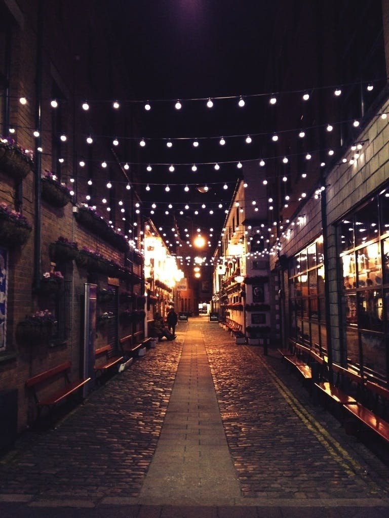 Free stock photo of light, city, night, street