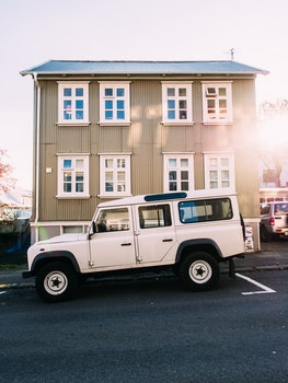 Free stock photo of iceland, road, street, building