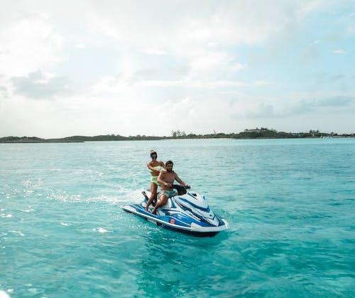 Darmowe zdjęcie z galerii z #jetski # plaża # brat #ocean # podróż, czas wolny, lato, łódź