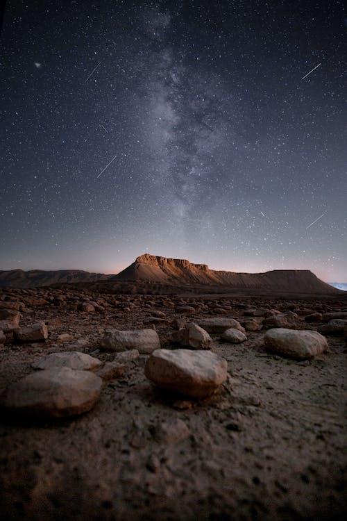 Gratis lagerfoto af astronomi, bjerg, canon 6d, landskab