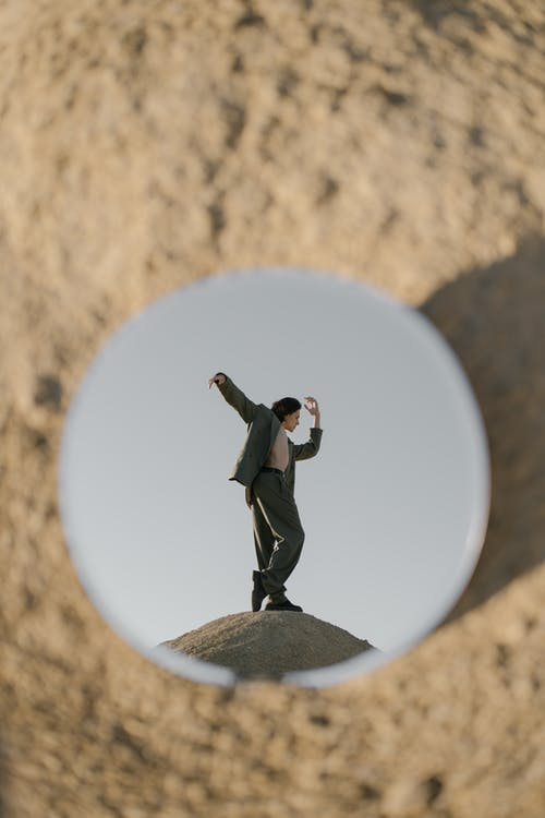 Δωρεάν στοκ φωτογραφιών με άμμος, αμμώδης, άνδρας, αντανάκλαση