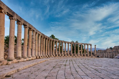 Kostnadsfri bild av arkeologi, forntida romersk arkitektur, forum, jerash