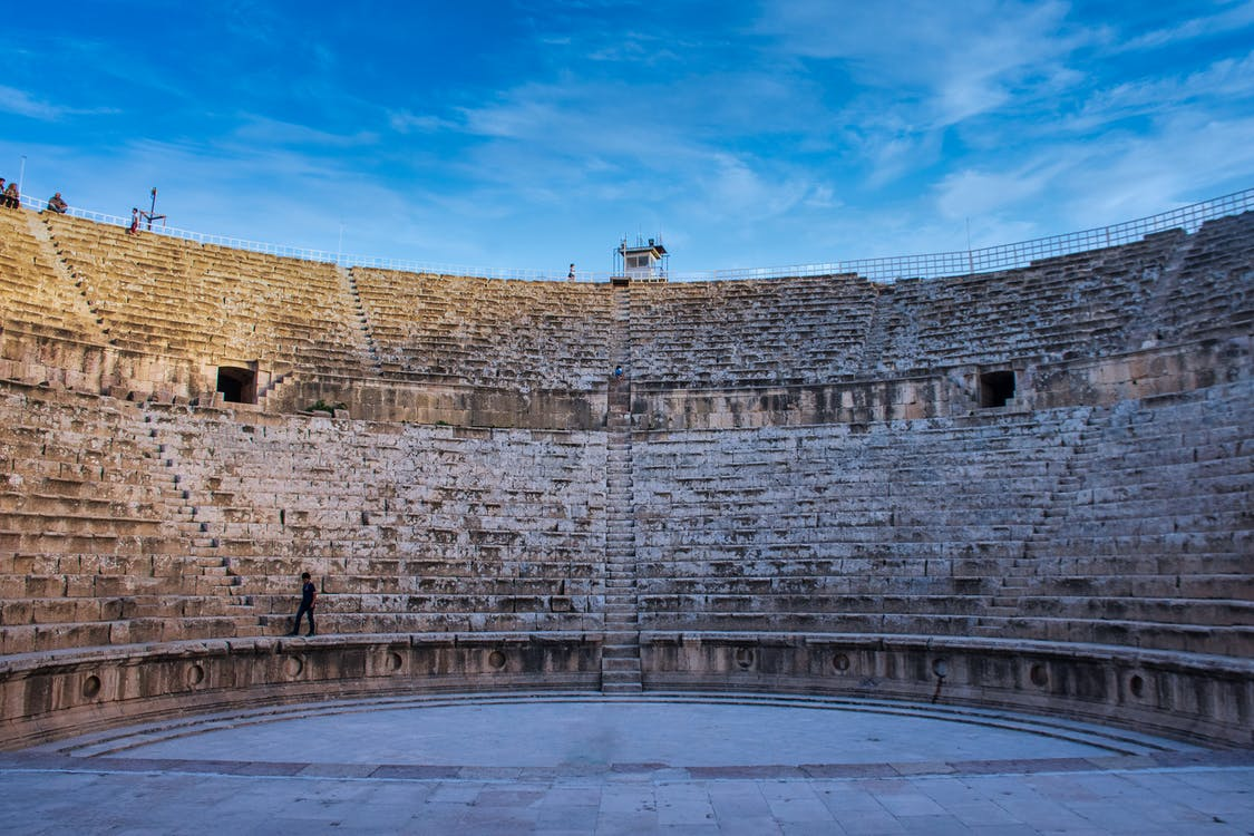 Ancient Roman Theater in Jordan