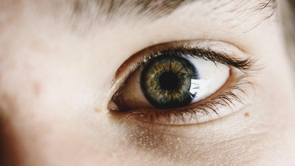 eye, eyelid, face