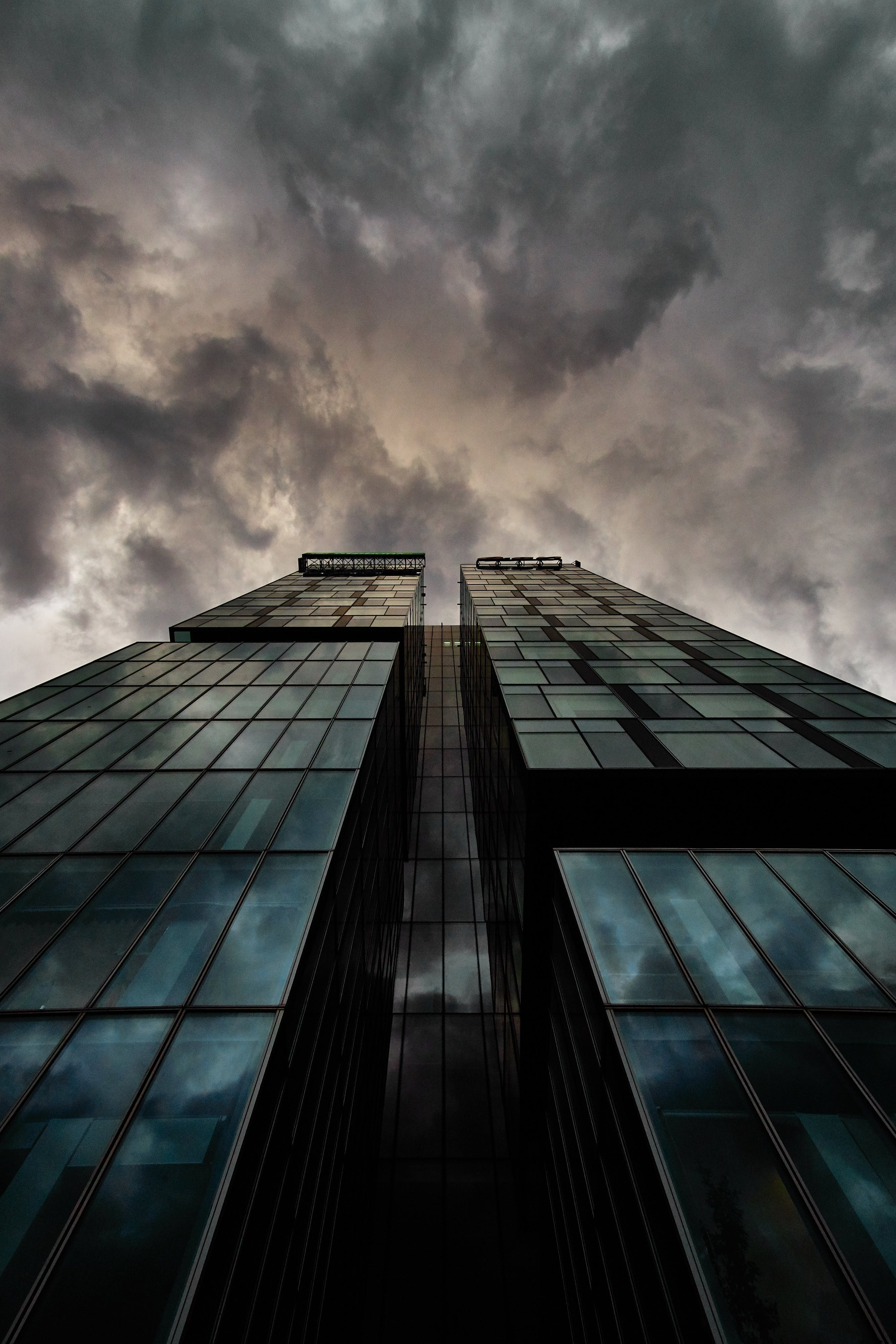 Free stock photo of sky, cloudy, building, glass