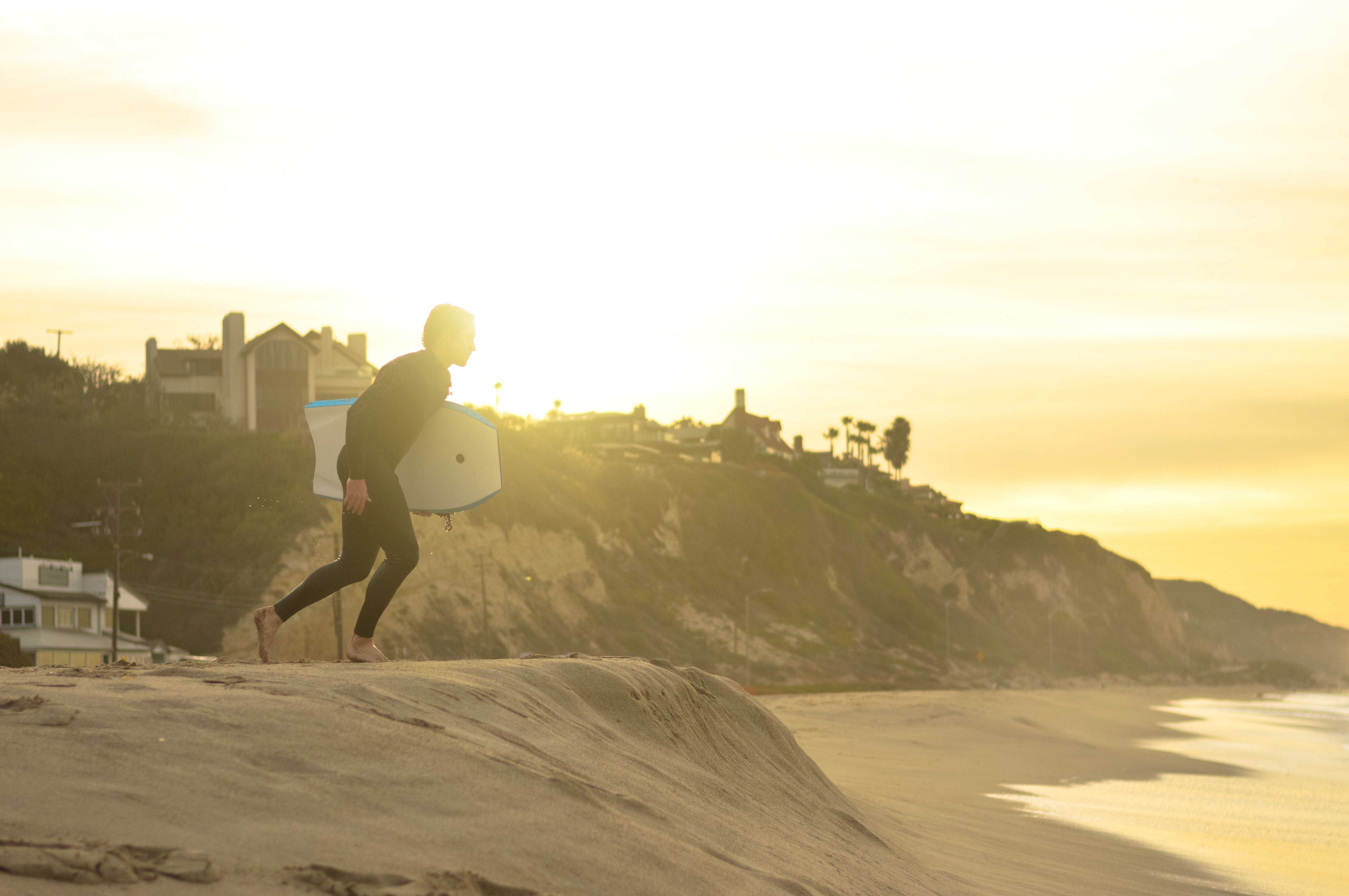 Free stock photo of sea, sunset, beach, sand