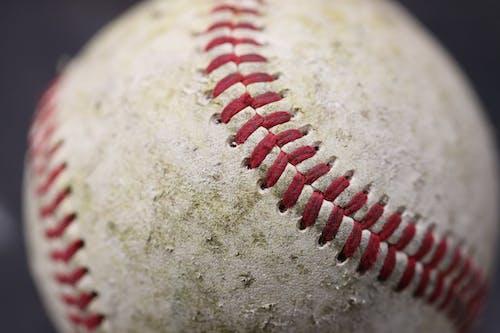 Close-Up Shot of a Baseball Ball
