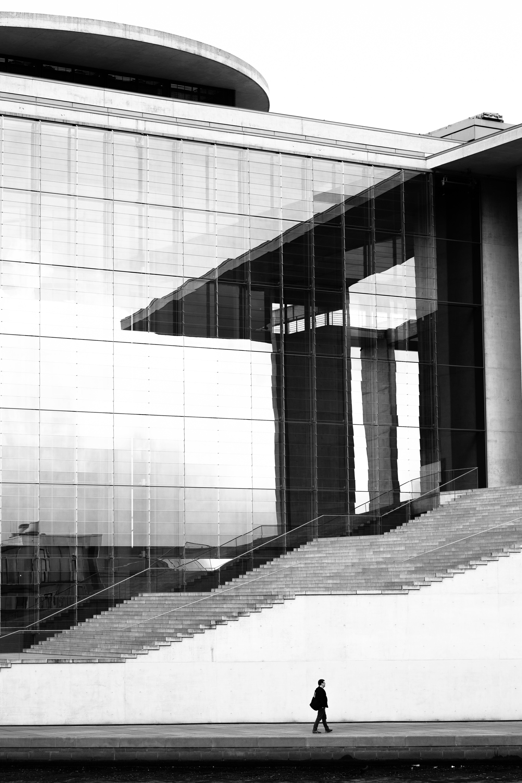 Kostenloses Stock Foto zu architektur, berlin, fassade, gebäude